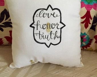 Custom Sorority Pillow