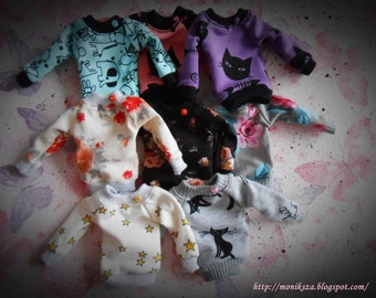 Blouse ,Sweatshirt , oversize ;) Pullip, Tangkou and similar dolls...