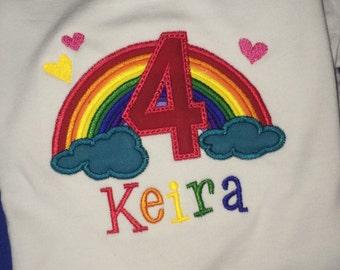 Rainbow Applique Shirt