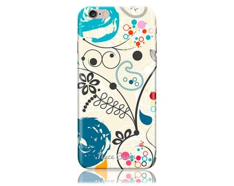 iPhone 6 Case - iPhone 6s Case #Paisley Artwork Cool Design Hard Phone Case