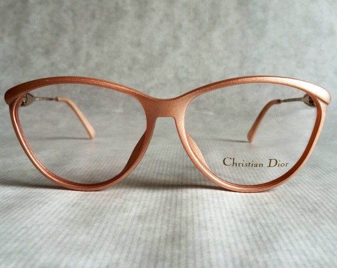 Christian Dior 2340 Vintage Spectacles with Scent Dispenser NOS - Made in Germany in the 1980s