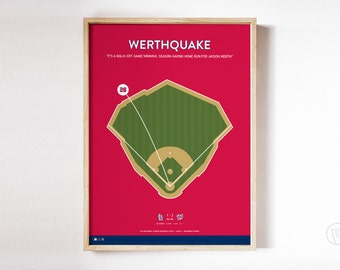Nationals Werthquake Print