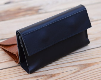 Leather wallet Man purse Leather iPhone 6 case Handmade iPhone cover iPhone 6 Plus pouch Ladies wallet Men's wallet