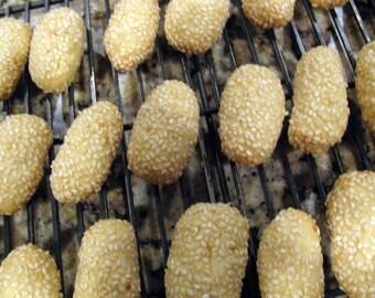 Sesame Seed Cookies (Biscotti Regina)