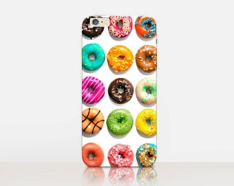 Donut Phone Case For - iPhone 7 Case - iPhone 7 Plus Case - iPhone SE Case - iPhone 6S case - iPhone 6 case - iPhone 5 Case Samsung S7