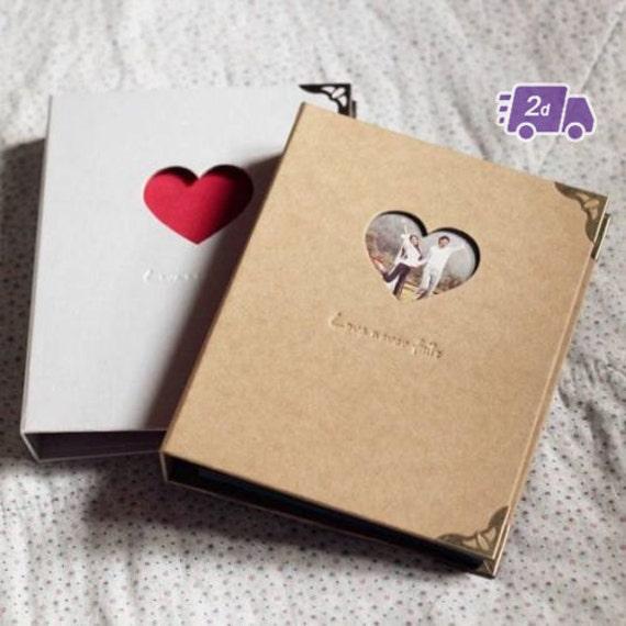 Items similar to love never fails white brown 3 ring - Como hacer un album de fotos ...