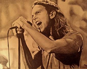 Eddie Vedder of Pearl Jam original print