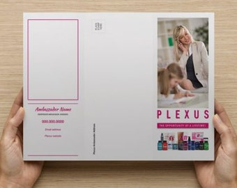 NEW!! Plexus Opportunity Brochure Digital Files- Personalized- #78332JH4.5.16 (Read Description Before Ordering)