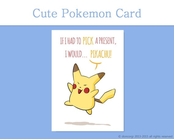 Pokemon Birthday Puns Images | Pokemon Images