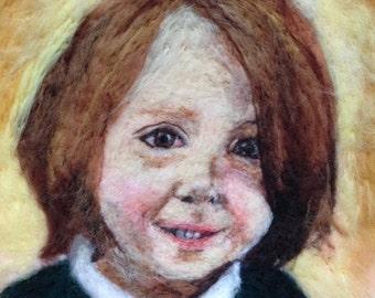 "Custom portrait - family/child/portrait 8"" x 10"" unframed"