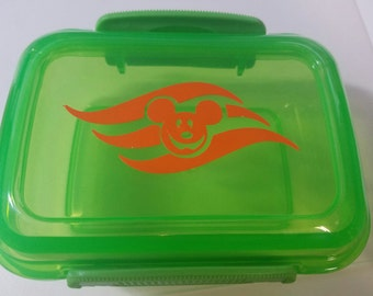 Disney Cruise Fish Extender Halloween on the High Seas Storage Container