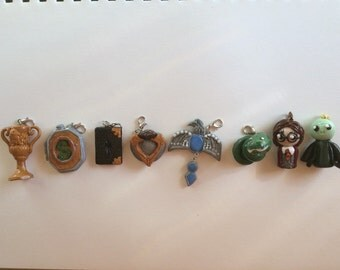Horcruxes- 6 including Harry and Voldemort