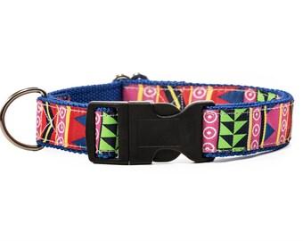 Aztec Dog Collar. Colorful Dog Collar. Southwestern Dog Collar. Triangle Dog Collar. COOKIE DOG COLLAR