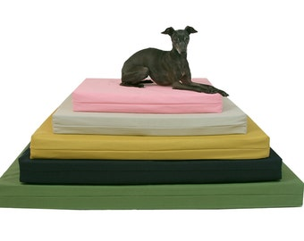Dog Bed Cover, X Large, Organic Cotton Duck, Dog Bed Duvet, Pet Bed Cover