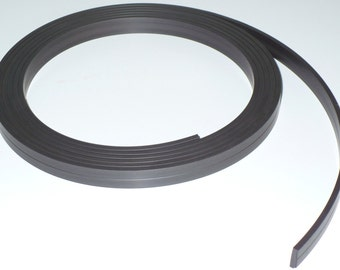 "1/2"" X 10' - 120 mil Plain Magnet Strip Roll"