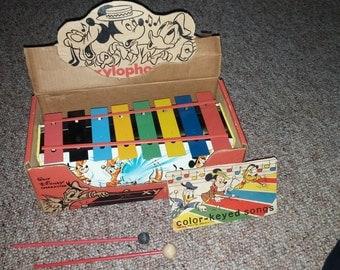 Vintage Disney Xylophone