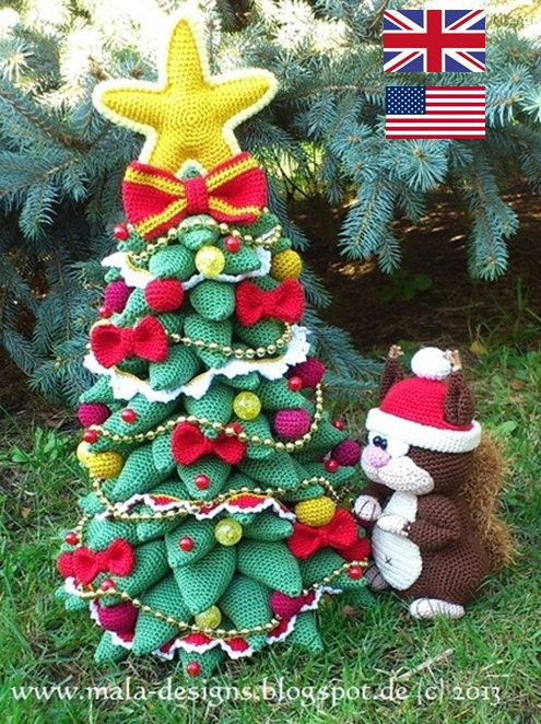 Snap Christmas Tree Crochet Pattern By Mala Designs â From