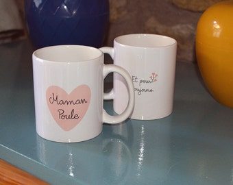 """Mothers day the """"Mother hen"""" Cup anniversary mug"""