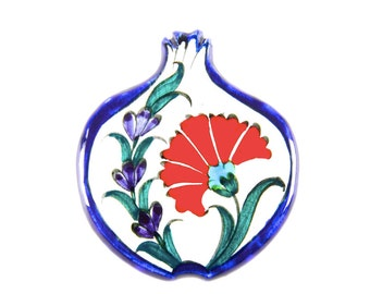 Pomegranate ceramic magnet