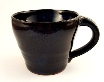 Handmade Wheel Thrown Pottery 8 oz mug