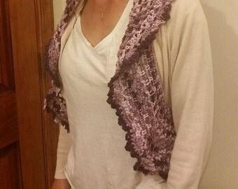 Crochet Circle Bolero Vest/Shrug