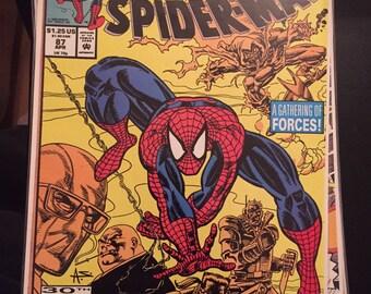 1992 Marvel Comics Web of Spiderman #87