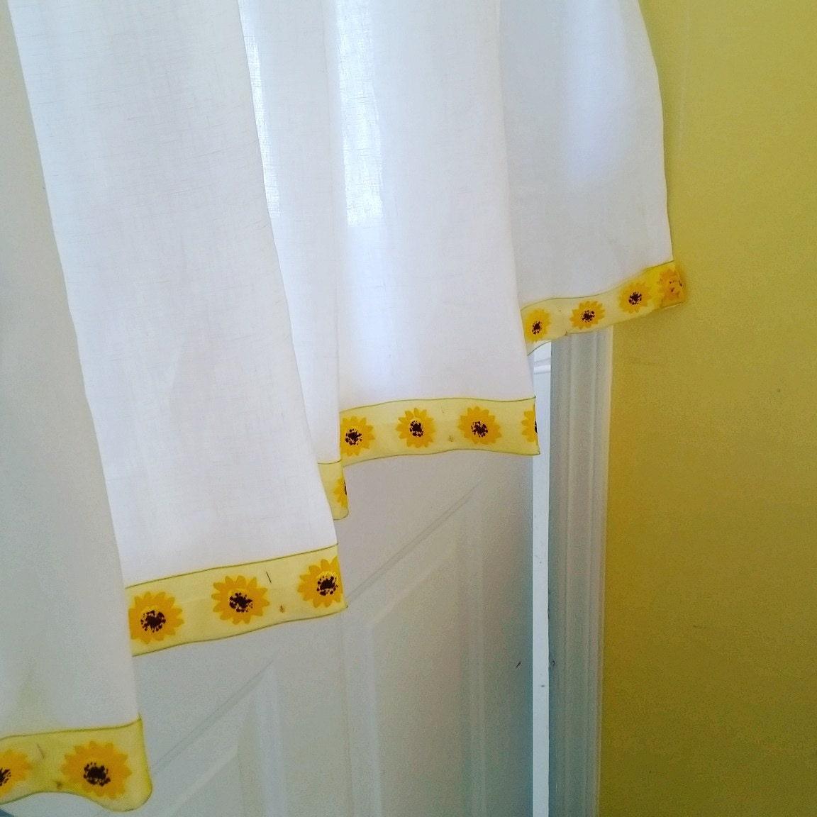 Yellow curtains for kitchen - Kitchen Curtains White Linen Cafe Curtain Irish Handkerchief Linen Kitchen Cafe Curtains