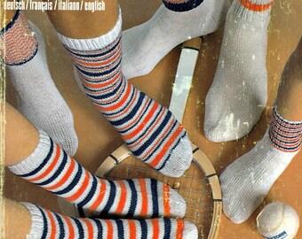 Knitted Socks Pattern, Kids Knit Sock Pattern, Adult Socks, Sock Pattern, Easy Sock Pattern, Knitting Patterns For Socks, Schaffhauser Mode