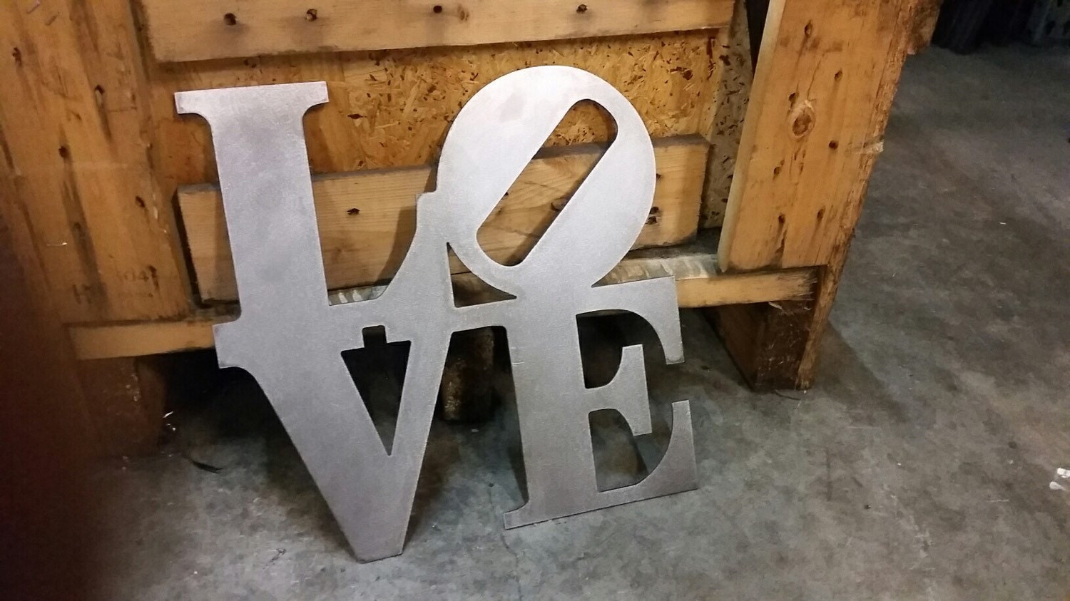 Free Ship metal love sign wall art decor custom sign valentine