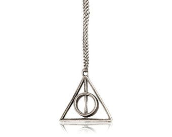 Necklace pendant Harry Potter Deathly Hallows . TMPL_SKU007117
