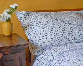 Chukri Duvet Cover Hand Block Printed on Organic Cotton