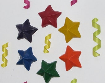 Recycled Crayons Stars