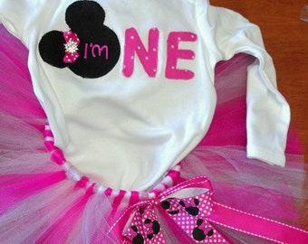 Mini Mouse Birthday Outfit!