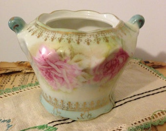 Vintage Napco Vase Or Cornucopia Planter Alaskan By