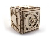 Mechanical 3D Safe puzzle - Educational Toy 3D Wooden Puzzles Moving Model
