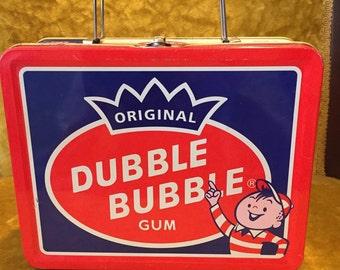 Vintage Dubble Bubble Lunchbox