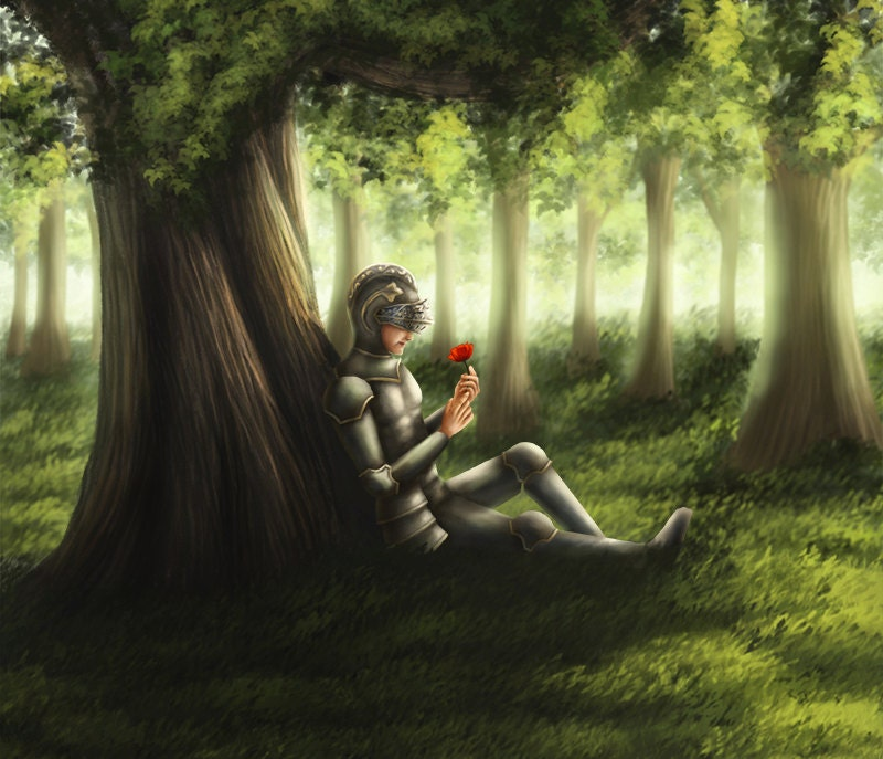Elf Fantasy Art Digital painting Fine Art Magical