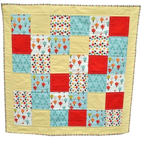 Beginner S Quilt Kit In Riley Blake S Giraffes By Sewmotionuk