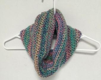 Beautiful Crochet Neckwarmer Cowl-Candied - READY TO SHIP