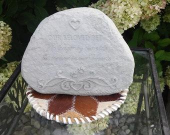 Beloved pet or Memory stone