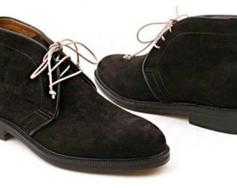 MEN SUEDE LEATHER Ankle Chukka Boots , Mens's Ankel Boot