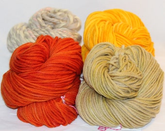 Naturally Dyed Wool Weaver's Pack (1)