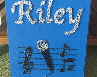 Music String Art