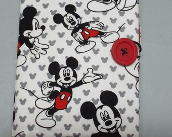Crayon Wallet or Organizer Mickey Mouse Fabric