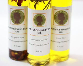 C.A.N MASSAGE and BODY OIL