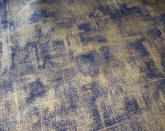 Moda 33140 30, navy background with scratches of gold metallic