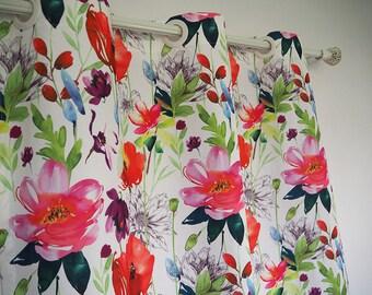window curtains | custom curtain panels | curtains | drapes | window curtain panels | Curtains | floral curtains | window curtain custom