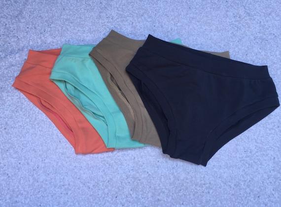 Seashore Color Theme Solid Underwear Pack - Elastic Free - Comfy Undies - Scrundlewear - Scrundies -