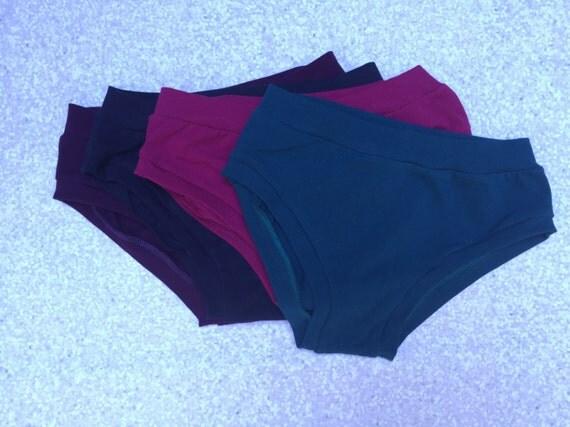 Jewels Color Theme Solid Underwear Pack - Elastic Free - Comfy Undies - Scrundlewear - Scrundies -