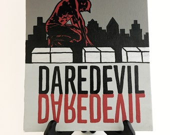 ON SALE! Daredevil Original Acrylic Canvas Painting